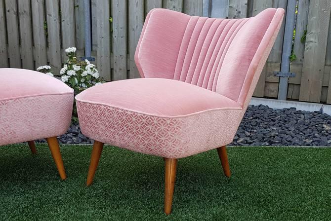Oud Roze Fauteuil : Gave vintage cocktail fauteuils in oud rose sfeerderij veldhoven