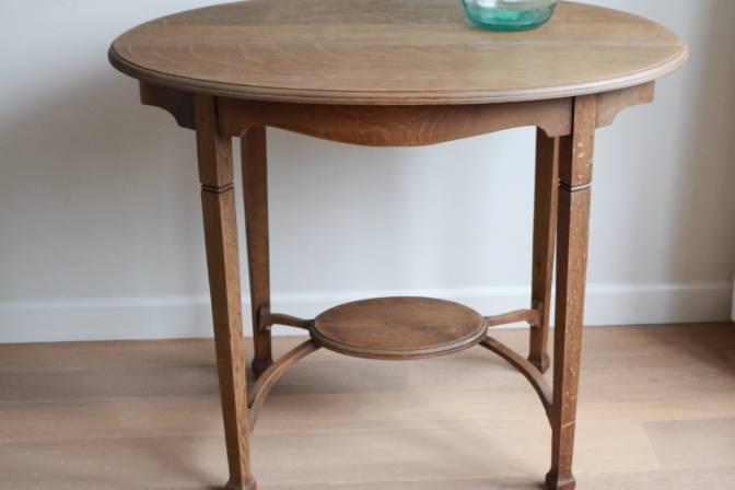 Engelse Keuken Merken : Engelse theetafel, eikenhout Sfeerderij Veldhoven