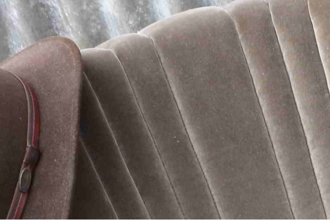 cocktail fauteuil leem velours