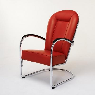 Gispen AA design fauteuils nieuw gestoffeerd