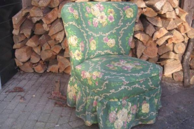 oude cocktail fauteuil